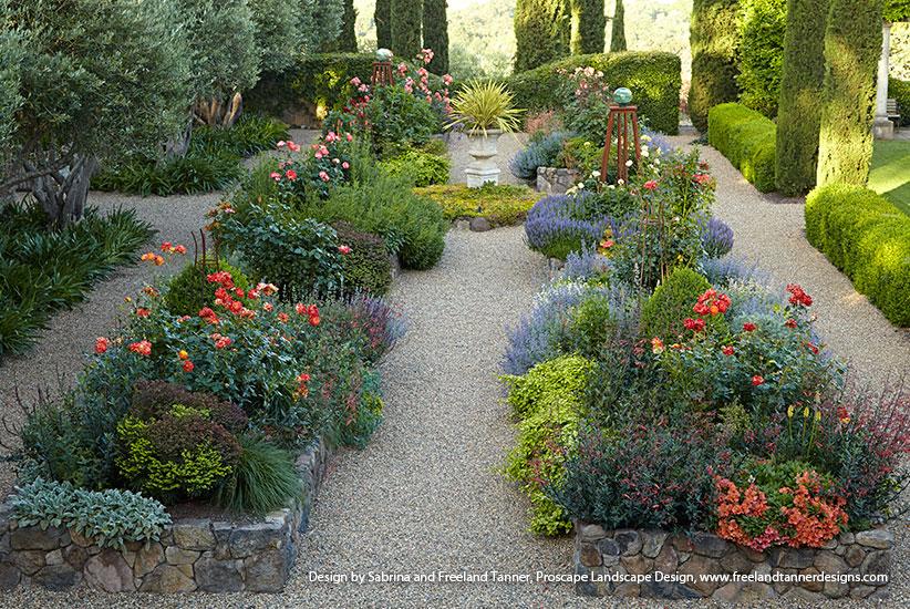 Beautiful Stone Raised Garden Beds | Garden Ga