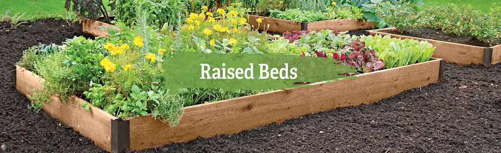 Raised Garden Beds and Garden Boxes - Free Shipping | Gardeners.c