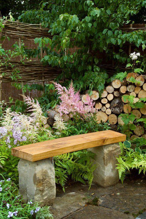 Make Beauty Last With Sustainable Gardening | Outdoor garden bench .