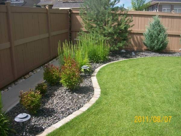 Landscaping Borders Edging | Backyard landscaping designs, Front .
