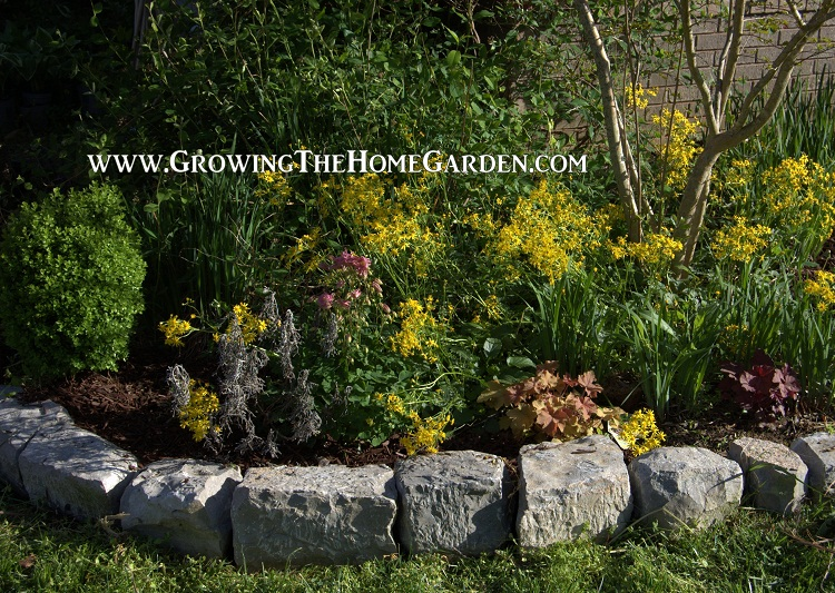 Natural Rocks for Stone Garden Borders – Growing The Home Gard