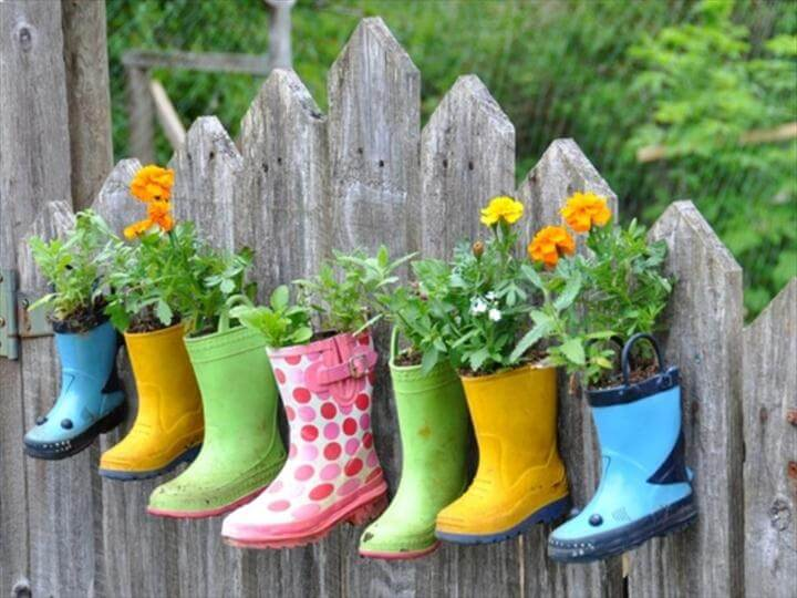 14 DIY Budget Friendly Garden Decoration Ide