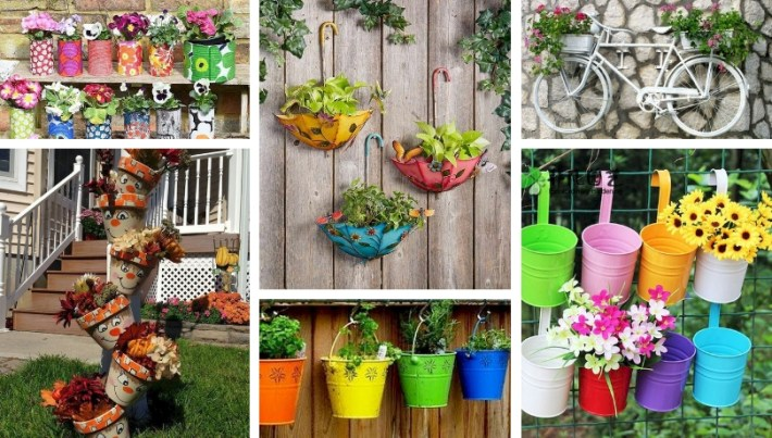 50+ Stunning DIY Spring decoration ideas for your yard and garden .