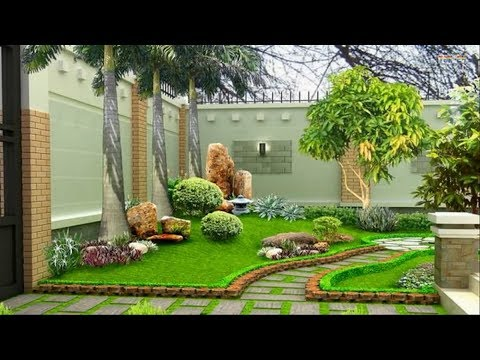 Landscape Design Ideas - Garden Design for Small Gardens - YouTu