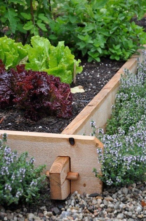 25 Garden Edges and Borders | Diy garden bed, Garden edging .