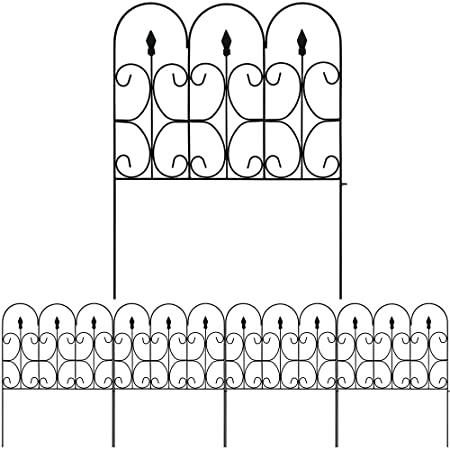 Amazon.com : Amagabeli Decorative Garden Fence 32inx10ft Outdoor .