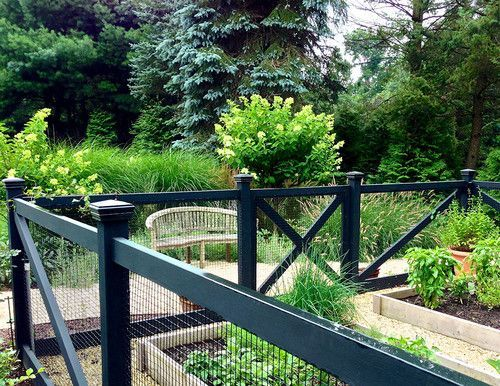 Image result for terraced garden fence | Farmhouse landscaping .