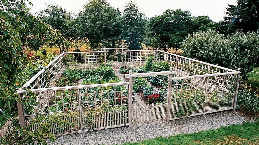 Deer-Proof Garden Fence Ideas - Sunset Magazi