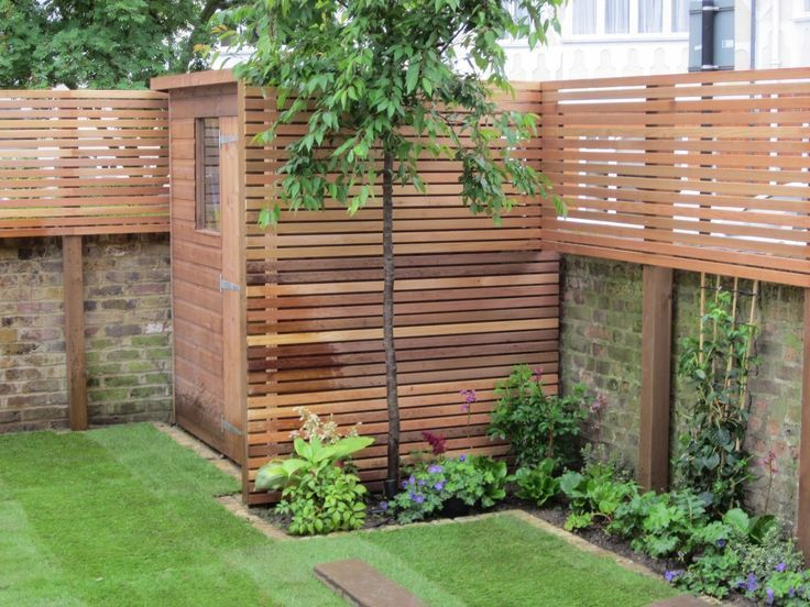 55 Awesome Privacy Fence Ideas for Residential Homes | Diy garden .