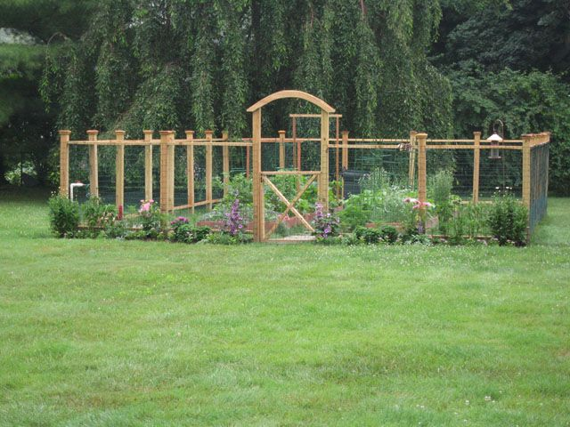 Nice idea for a garden fence. If you build it to be over 6 feet .