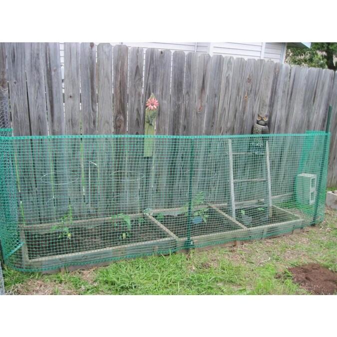 BOEN 40-inx25-ft Green Plastic Garden Fence in the Garden Fencing .