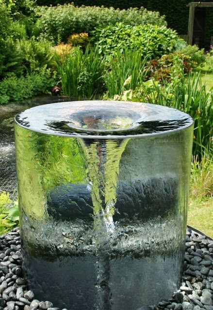 The stunning Volute water feature | Backyard water feature, Water .