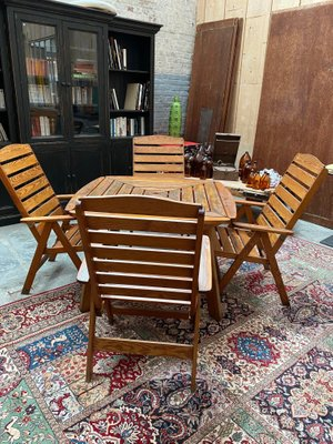 Garden Furniture Set, 1970s for sale at Pamo