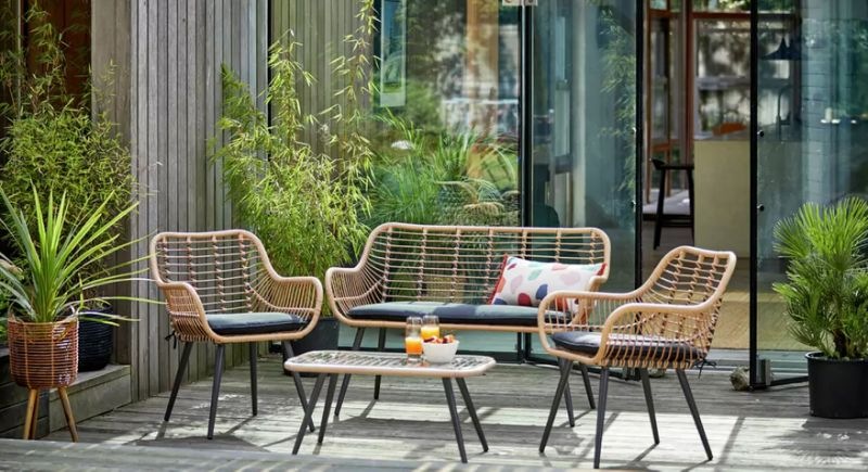 I bought this £250 garden furniture set and it transformed my .