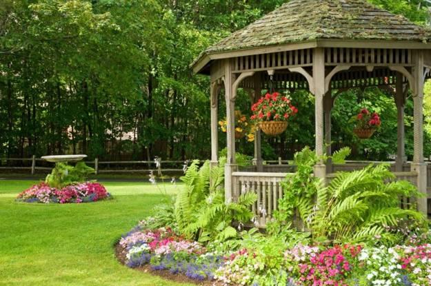 22 Beautiful Garden Design Ideas, Wooden Pergolas and Gazebos .