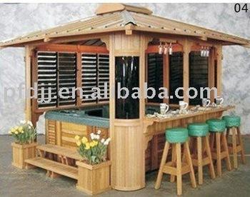 Outdoor Garden Wooden Gazebo - Buy Wooden Gazebo,Wood .