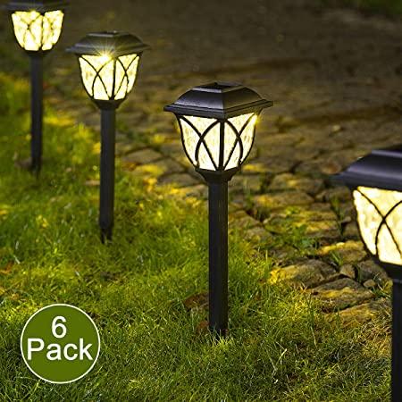 Amazon.com : Solpex Solar Pathway Lights Outdoor, LED Solar Garden .