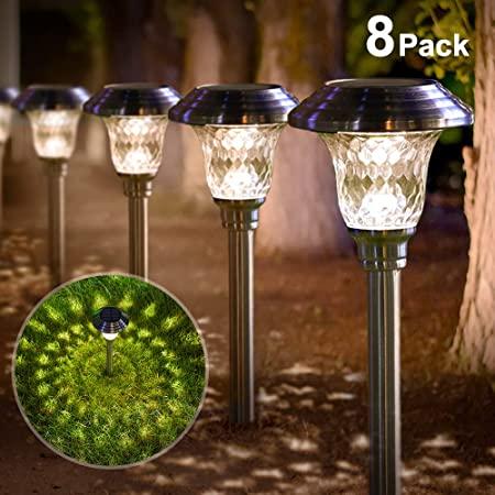 Amazon.com : BEAU JARDIN Solar Lights Bright Pathway Outdoor .