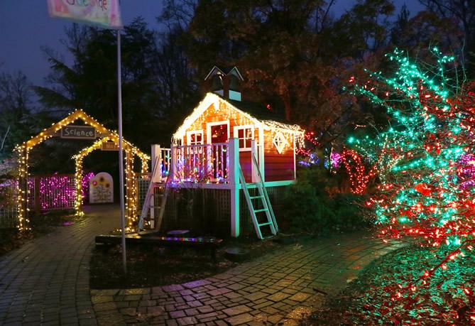 Garden of Lights Display Opens Nov. 24 at Brookside Gardens in .