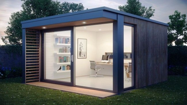 Mini Pod, Garden Office | Garden office shed, Office pods .