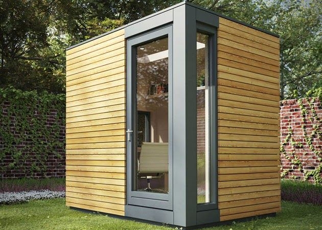 MICRO POD GARDEN OFFICE STUDIO | Men's Gear | Backyard office .