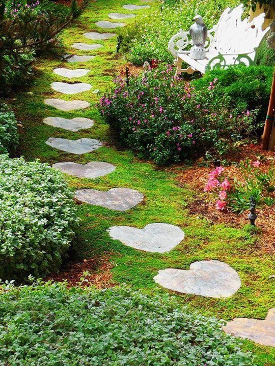 Pin by Rae Lynn DeZelia on Garden Space | Small garden path ideas .