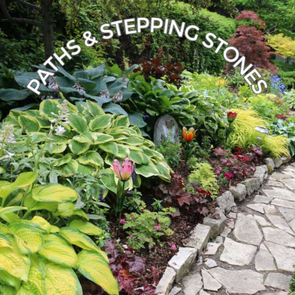 12 Stepping Stone & Garden Path Ideas | Empress of Di
