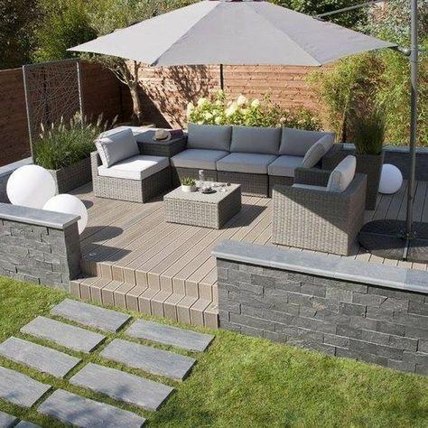 46 Cheap Garden Patio Decorating Ideas - Think about garden and .
