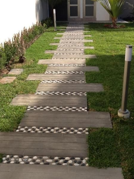 la foto - Buddy Rhodes Concrete Mixes and Methods | Stone walkway .