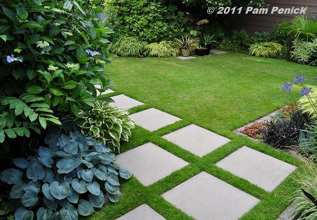 Foliage fantasia in Portland's Danger Garden | Garden pavers .