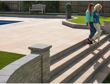 Marshalls - Sawn Versuro Smooth Steps | Garden paving, Paving .