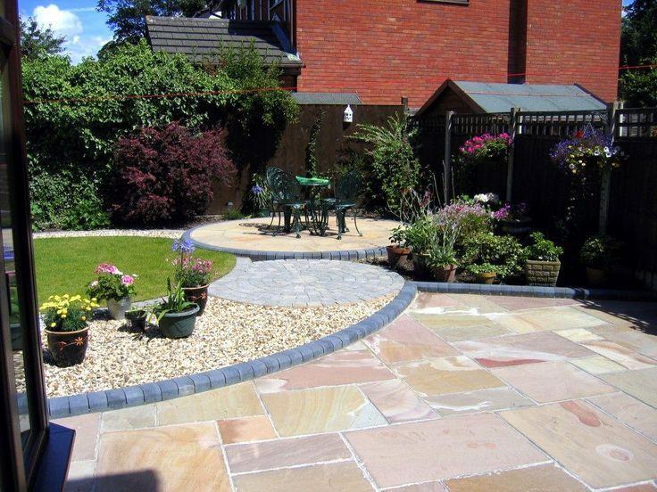 Small Garden Ideas Northern Ireland Rustic Garden Paving Slabs .