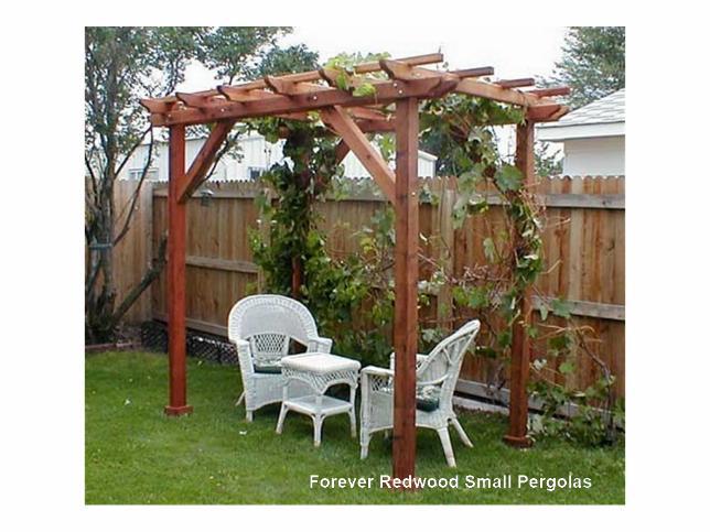 Extraordinary small garden pergola | Garden Landsca