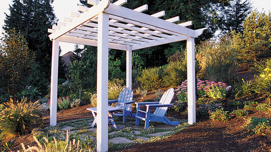 How to build a backyard pergola - Sunset Magazi