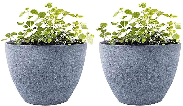 Amazon.com : LA JOLIE MUSE Flower Pot Garden Planters Outdoor .