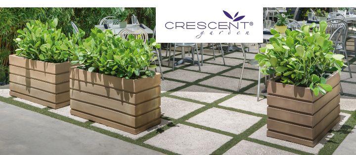 Crescent Garden Planters - NewPro Containe