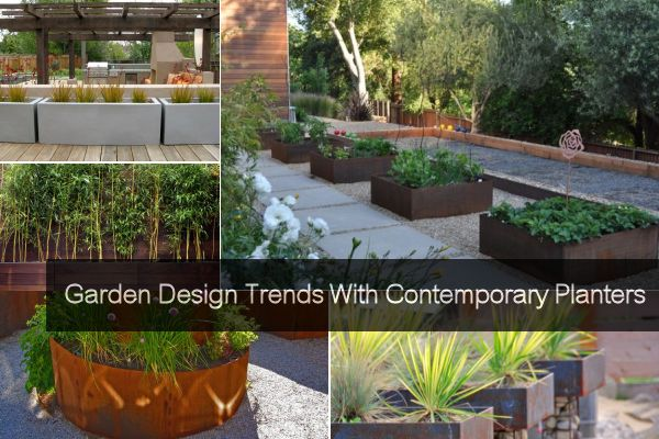 Garden Design Trends With Contemporary Plante