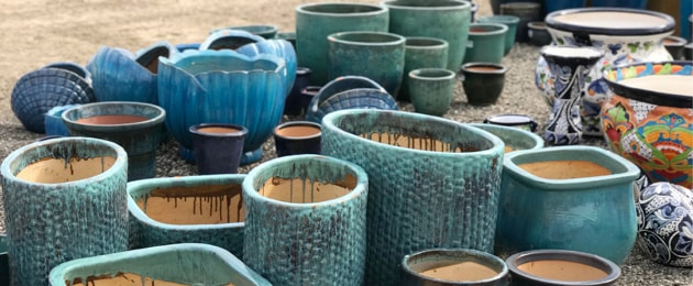 Tips for Filling Large Garden Pots - Pam's Greenhous