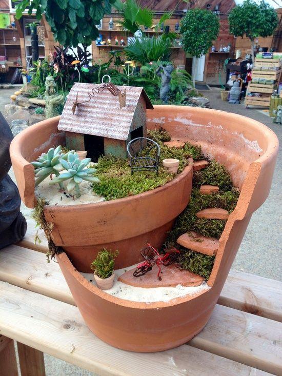Outdoors, Gardens & Camping | Mini garden, Fairy garden pots .