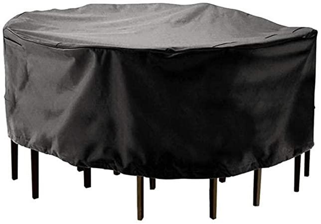 Amazon.com : LPD- Garden Rattan Furniture Cover Round Shape .