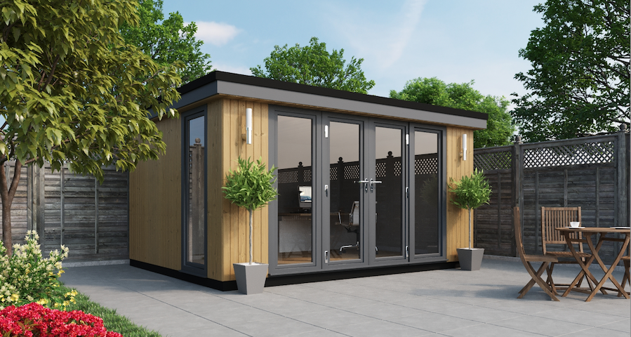 Garden Rooms and Garden Offices Contemporary Style 6m x 3.