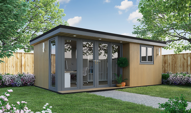 Garden Rooms and Garden Offices Studio Style 5.4m x 3.