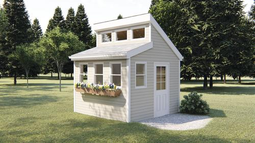 Tilly Garden Shed 10 x 10 x 8 Material List at Menards