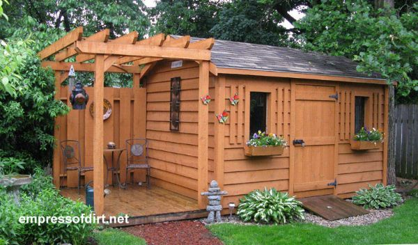 50 Creative Garden Shed Ideas | Empress of Dirt | Backyard sheds .