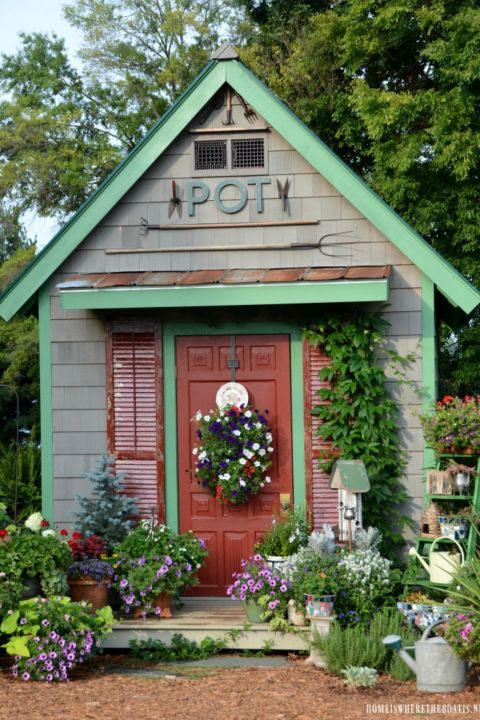 These Garden Shed Ideas Will Add Tons of Charm to Your Backyard .
