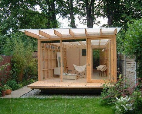 Diy Garden Shed | Shed design, Modern shed, Backyard stud