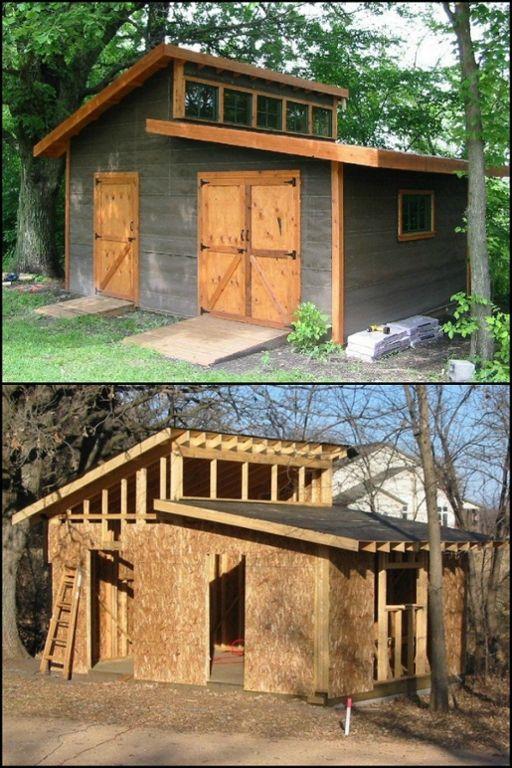 DIY Garden Shed | Diy storage shed plans, Shed design, Building a sh