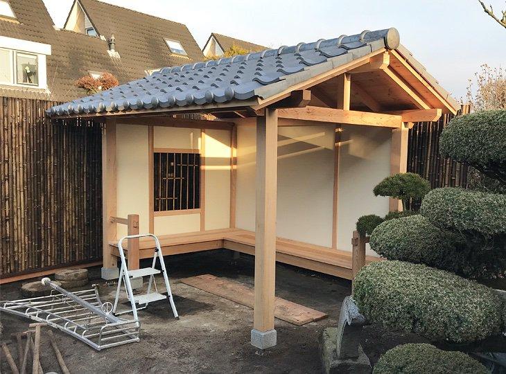 For Sale, Buy, Japanese Garden Shed, Japanese Garden Bench .