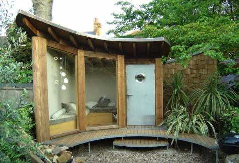 garden shelter ideas from oz | Old School Gard
