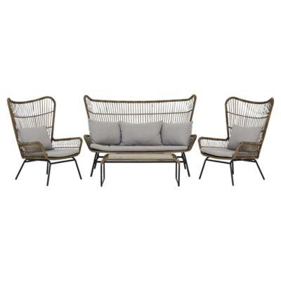 Arizona 4 Piece Garden Sofa Set | Outdoor & Garden | George in .